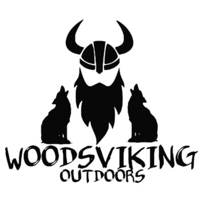 WOODSVIKING OUTDOORS - S/S PREMIUM TEE - WHITE Design