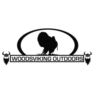 WOODSVIKING OUTDOORS TURKEY - S/S PREMIUM TEE - WHITE Design