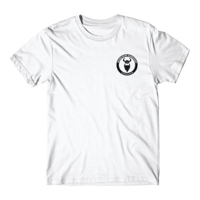 LOGO LEFT CHEST - S/S PREMIUM TEE - WHITE Thumbnail