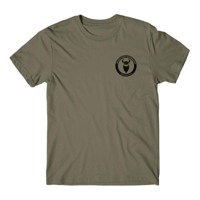 LOGO LEFT CHEST - S/S PREMIUM TEE - MILITARY GREEN Thumbnail