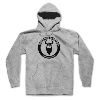 LOGO - PREMIUM PULLOVER HOODIE - LIGHT GRAY HEATHER Thumbnail